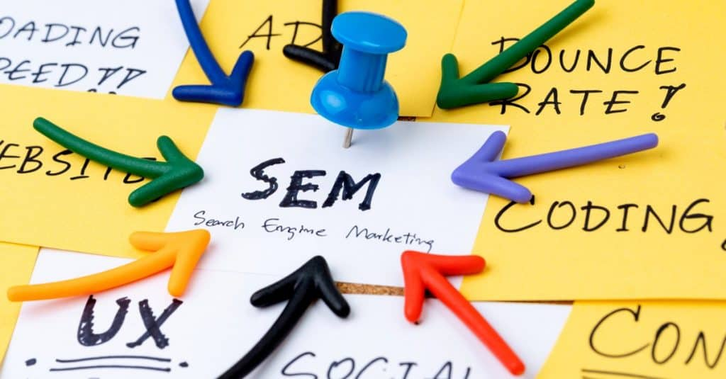 Search engine marketing as a service